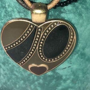 Vintage Southwest Heart necklace
